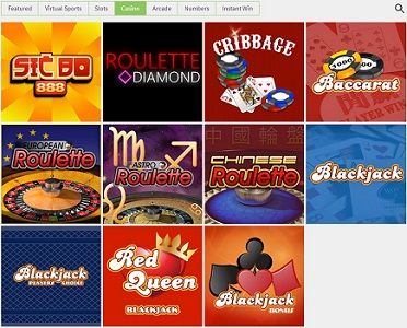 Online casino games by 1x2 Gaming