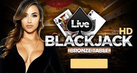 BigSpinCasino Live Blackjack version