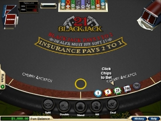 Cherry Jackpot casino blackjack