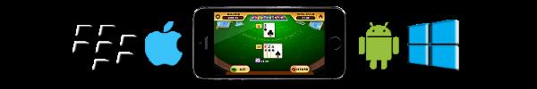 blackjack for various mobile platforms