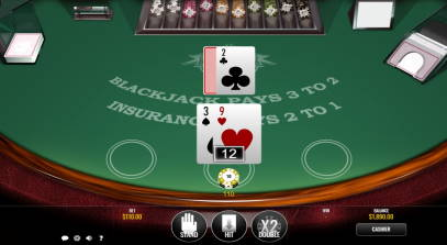 Online Blackjack by Rival