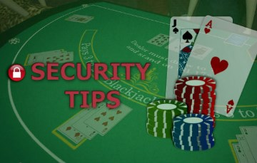 staying safe while playing blackjack online